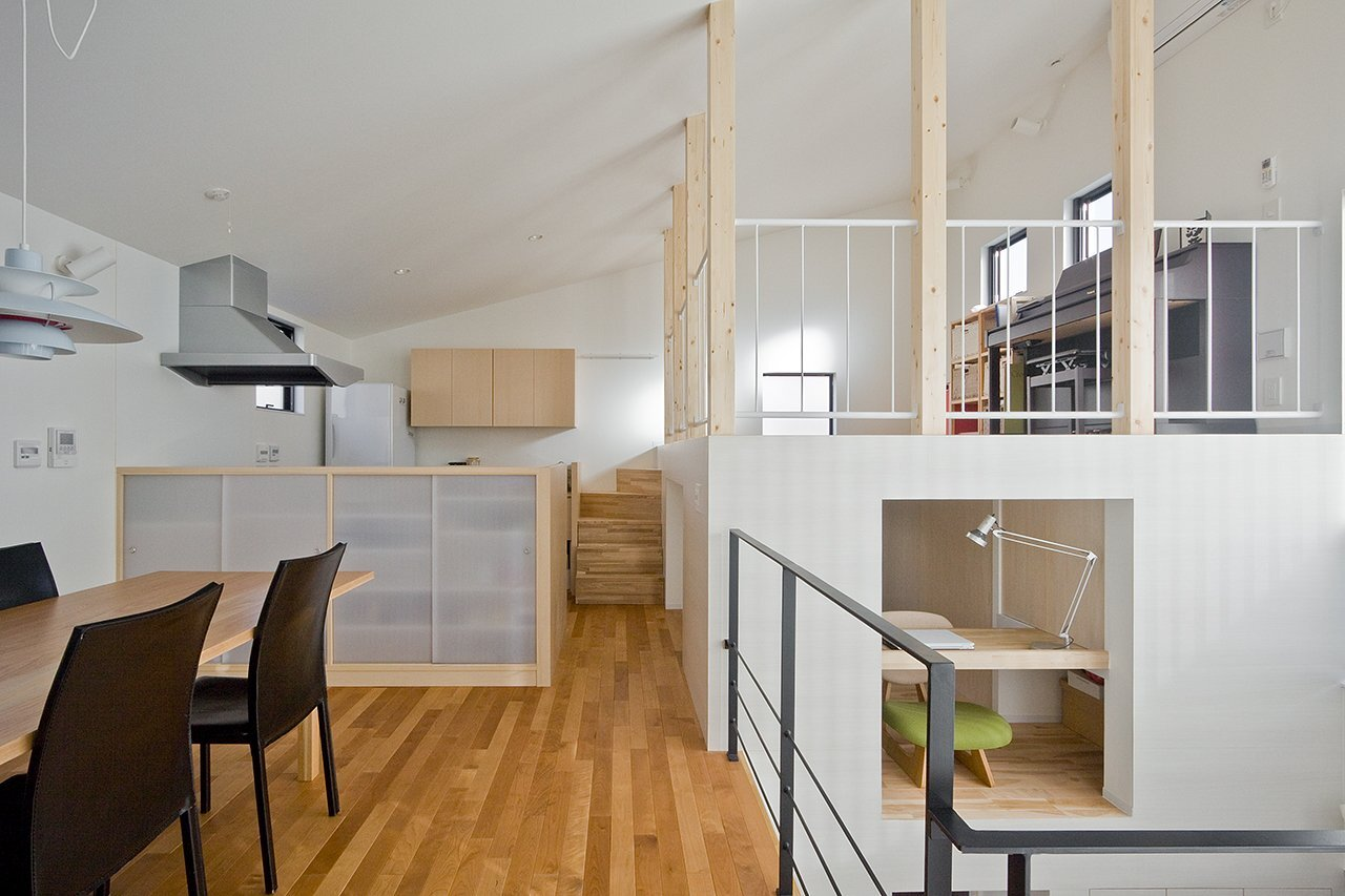 House in Musashisakai - Small House - Upsetters Architects - Tokyo - Japan - Kitchen & Dining Area - Humble Homes