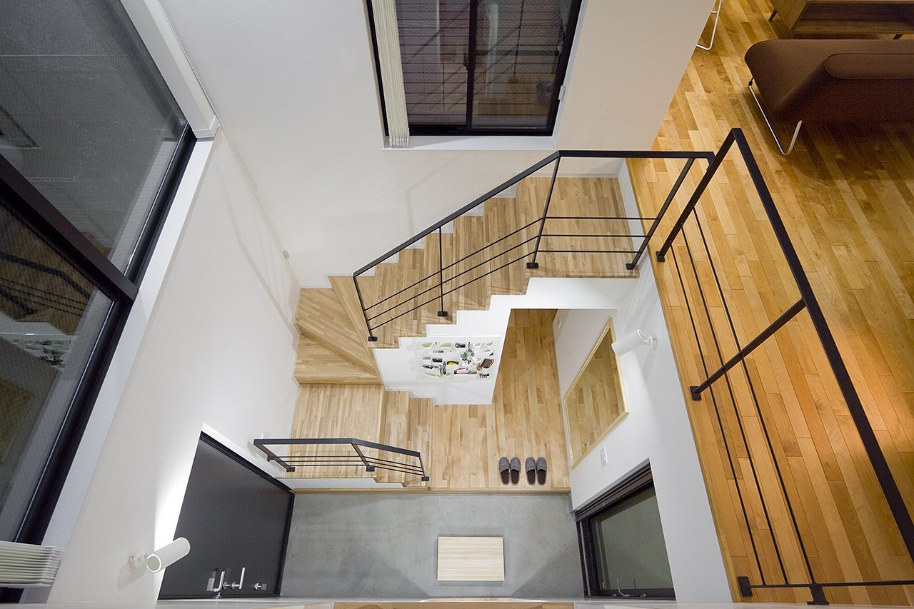 House in Musashisakai - Small House - Upsetters Architects - Tokyo - Japan - Stairwell - Humble Homes