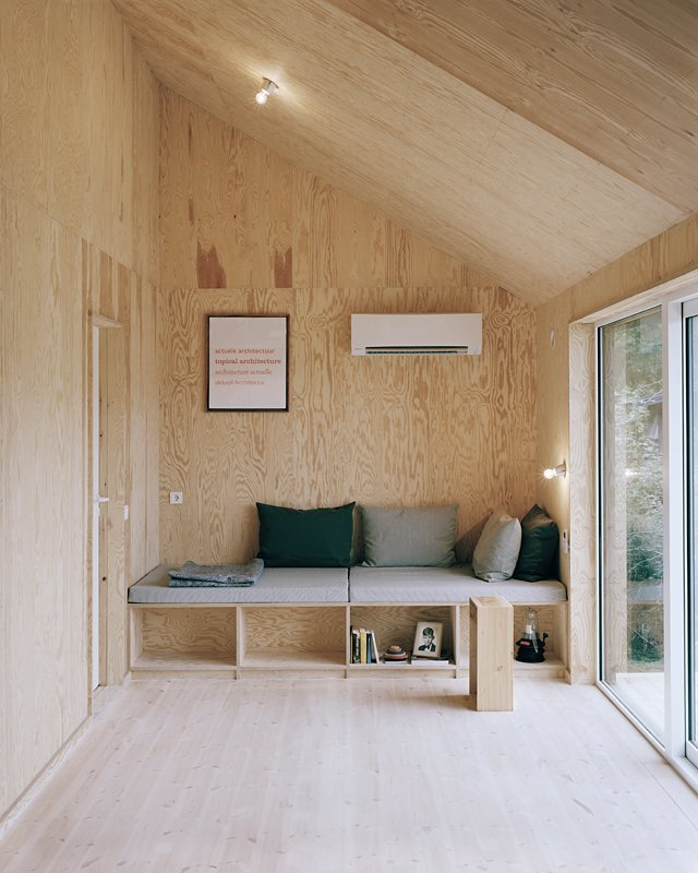 Johannes Norlander Arkitektur - Gothenburg - Sweden - Small House - Sitting Area - Humble Homes