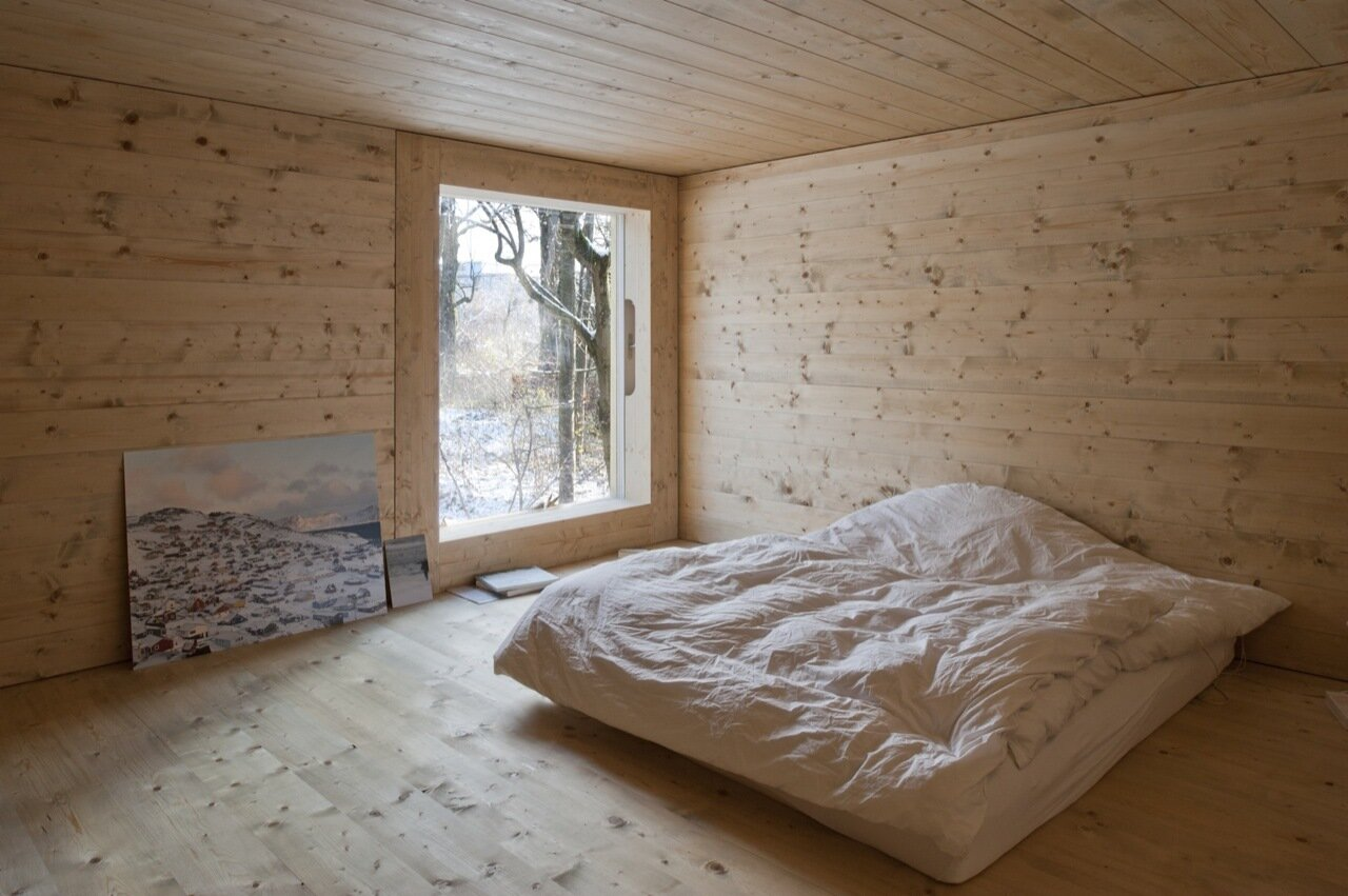 LVPH Architectes - Small House - Windig Park - Fribourg - Switzerland - Bedroom - Humble Homes