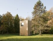 LVPH Architectes - Small House - Windig Park - Fribourg - Switzerland - Exterior - Humble Homes