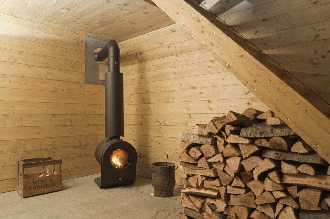 LVPH Architectes - Small House - Windig Park - Fribourg - Switzerland - Wood Burner - Humble Homes