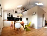 Loft Space - Craft Design - London - Camden - Tiny Apartment - Kitchen - Humble Homes