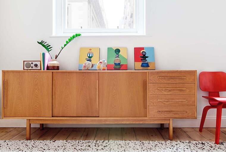 Tiny Apartment - Clare Cousins - Flinders Lane Apartment - Melbourne - Cabinet - Humble Homes