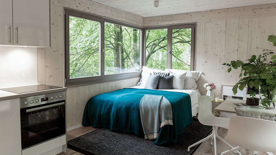 Urban Treehouse Berlin - Baumraum - Germany - Bedroom- Humble Homes