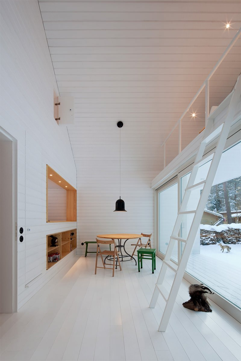 Waldhaus -Small Cabin - Brandenburg - Atelier-ST - Dining Room - Humble Homes