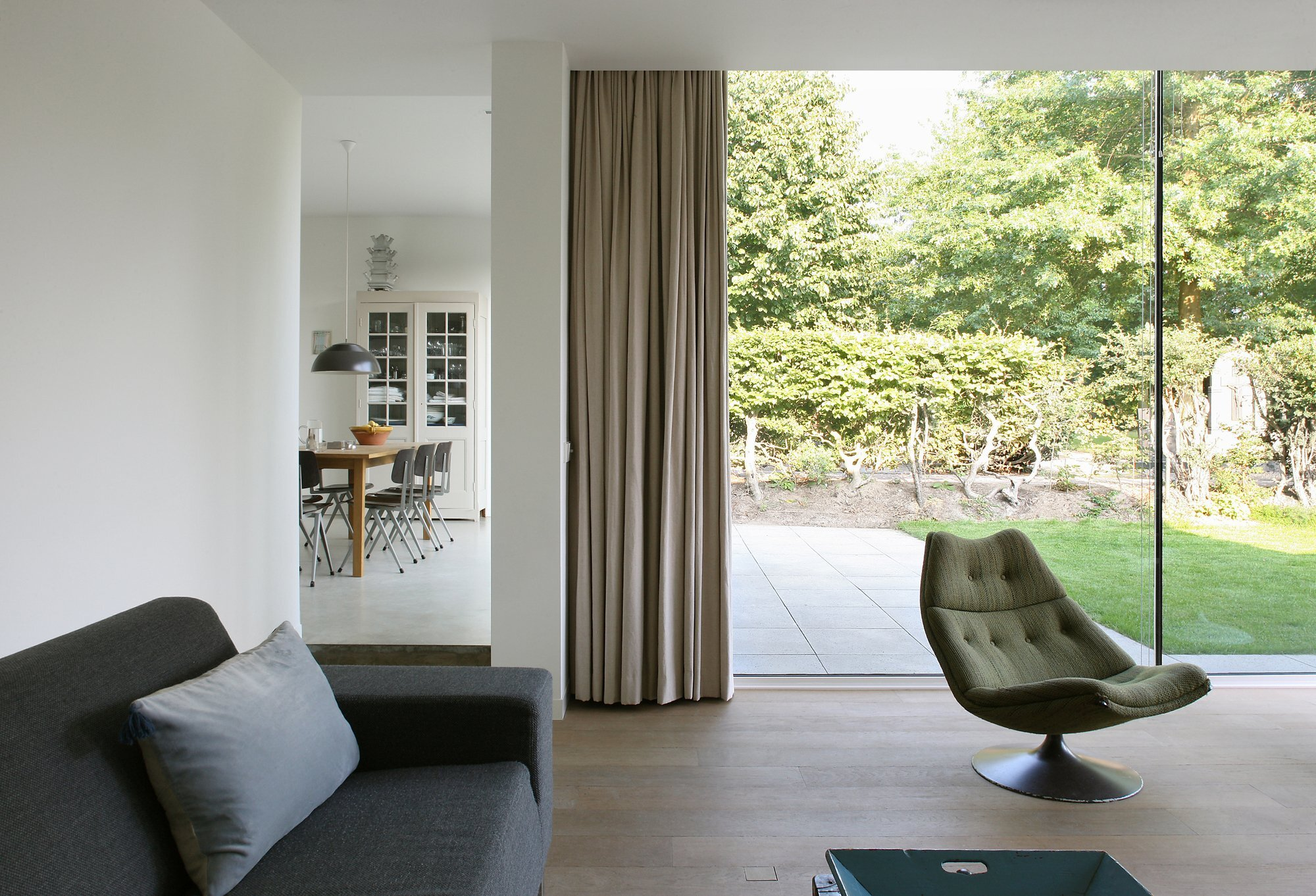 Bedaux-Nagengast Residence - Small House - Bedaux de Brouwer Architects - Living Room - Humble Homes