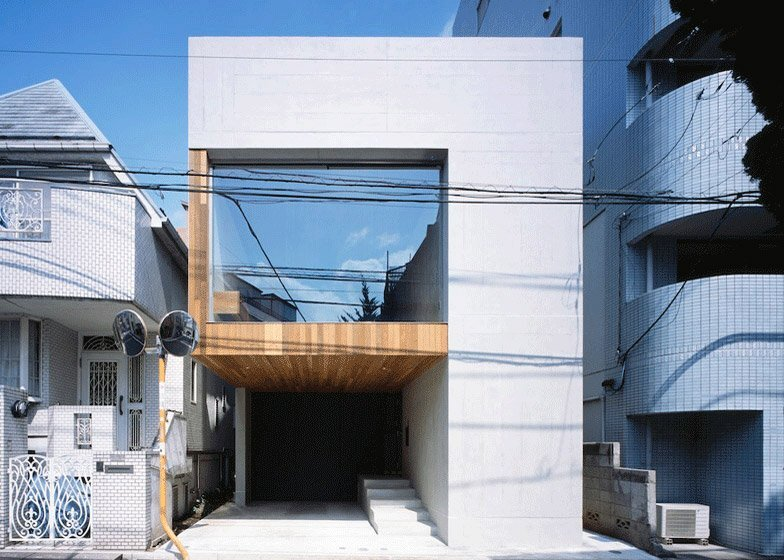 Frame - Small Japanese House - Apollo Architects & Associates - Exterior - Humble Homes