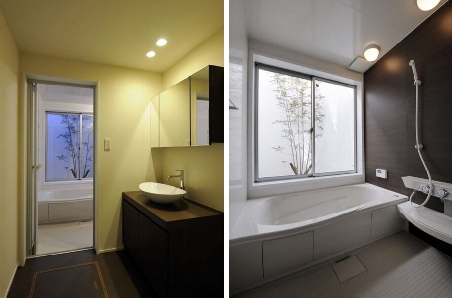 House of Kashiba - Japanese House - Horibe Naoko Architect Office - Kashiba-Shi - Japan - Bathroom - Humble Homes