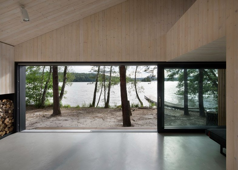 Lake Cabin - FAM Architekti - Czech Republic - Interior - Humble Homes