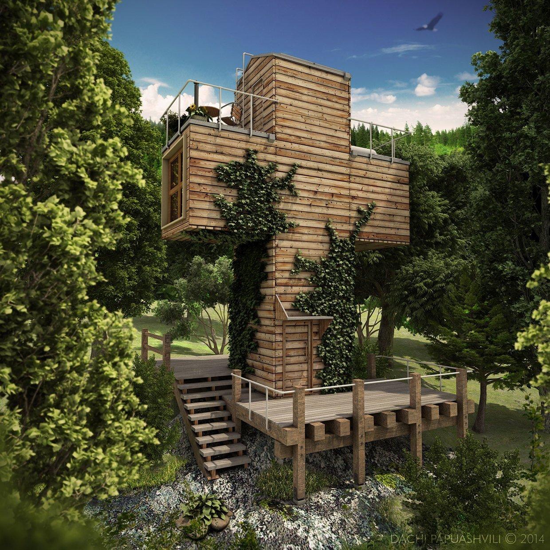 Micro House - Skit 2014 - Dachi Papuashvili - Exterior - Humble Homes
