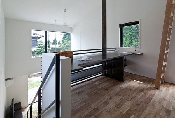 Niu House - Japanese House - Yashihiro Yahomoto Architect Atelier - Nara - Japan - Loft Desk - Humble Homes