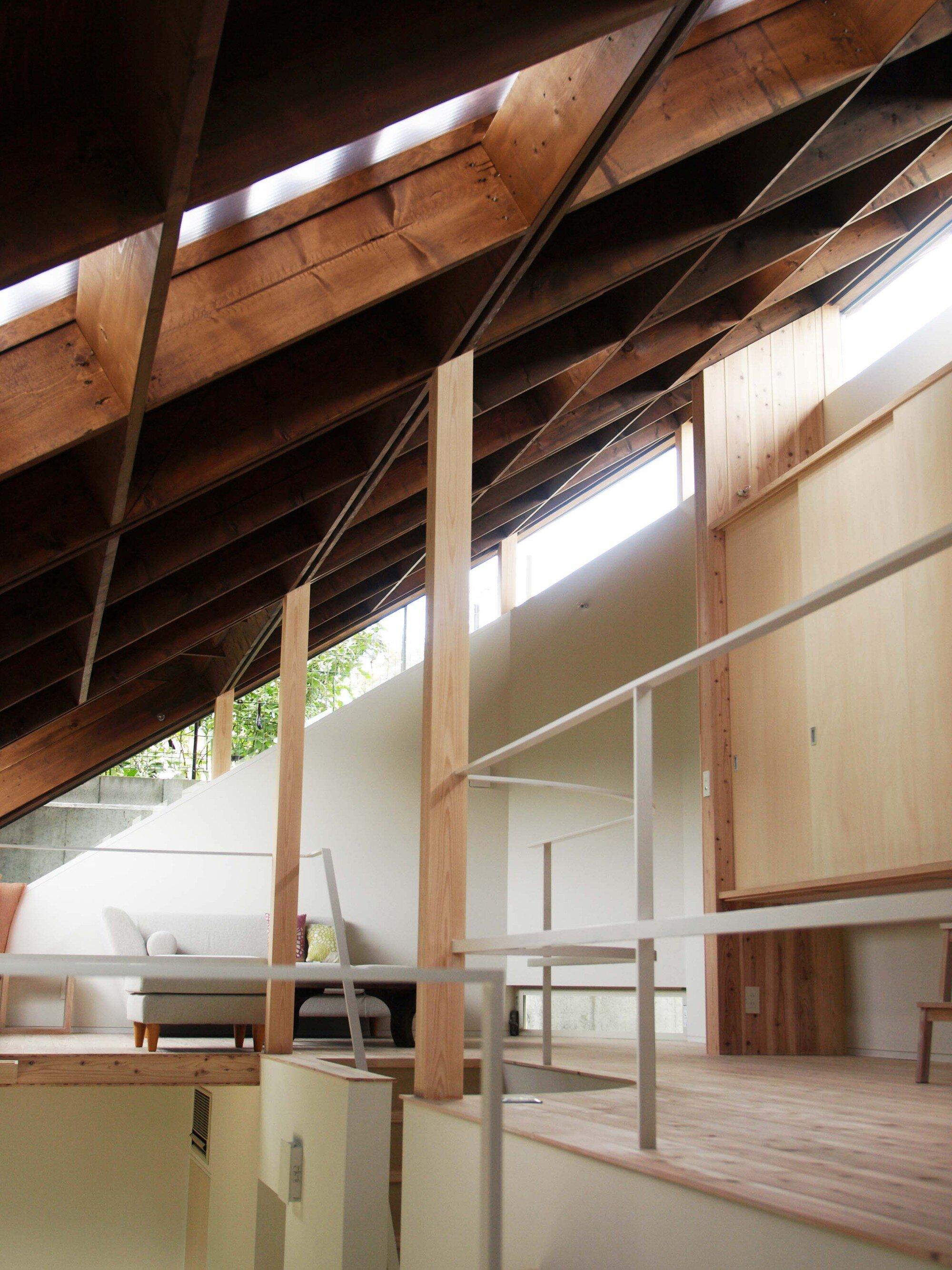 North Garden House - Small House - y+M - Tokushima Japan - Loft - Humble Homes
