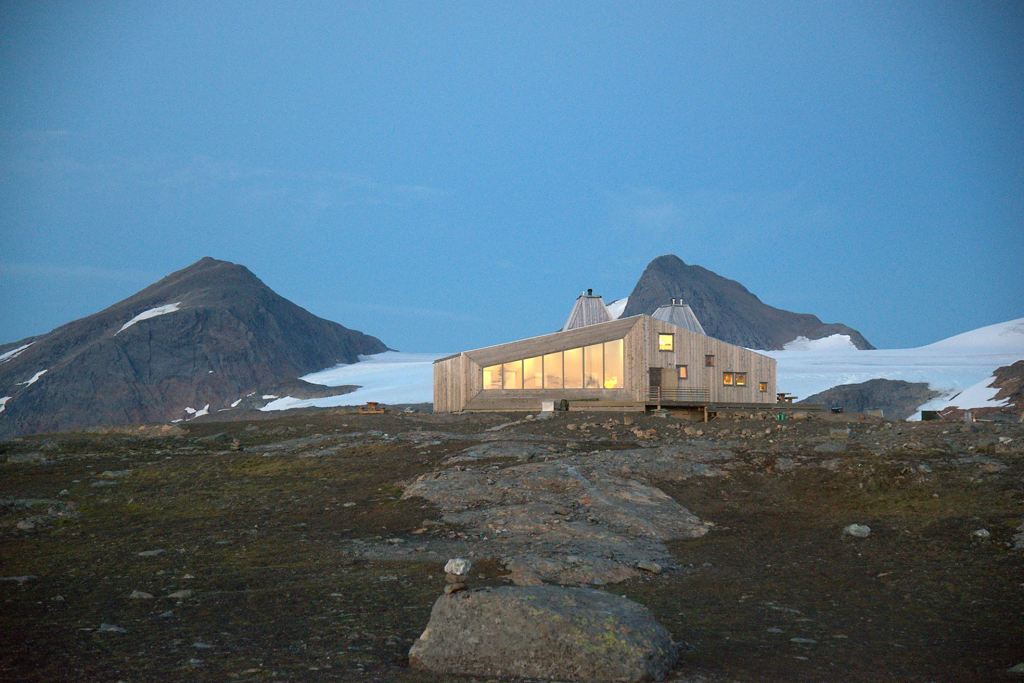 Rabot Tourist Cabin - JVA - Norway - Retreat - Exterior - Humble Homes