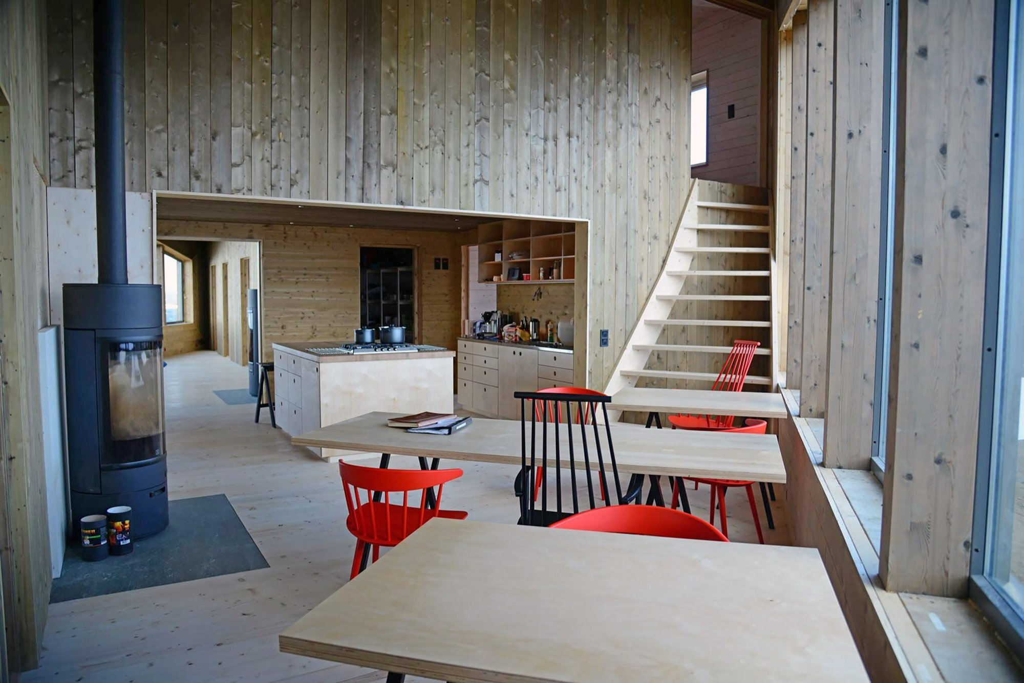 Rabot Tourist Cabin - JVA - Norway - Retreat - Kitchen & Dining Area - Humble Homes