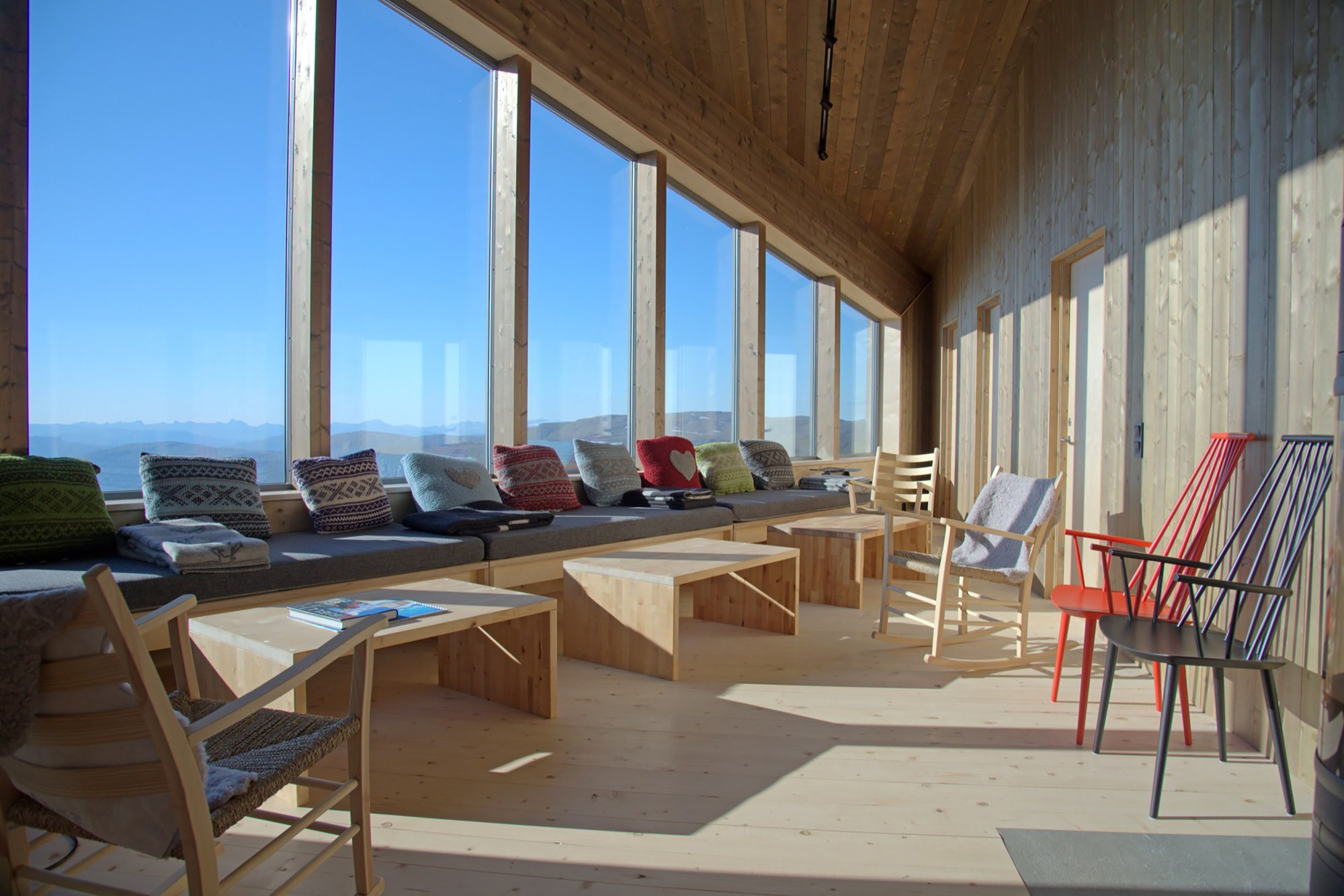 Rabot Tourist Cabin - JVA - Norway - Retreat - Living Area - Humble Homes