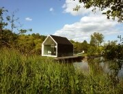 Recreational Island Home - Small House - 2by4-architects - Bruekelen - Exterior - Humble Homes