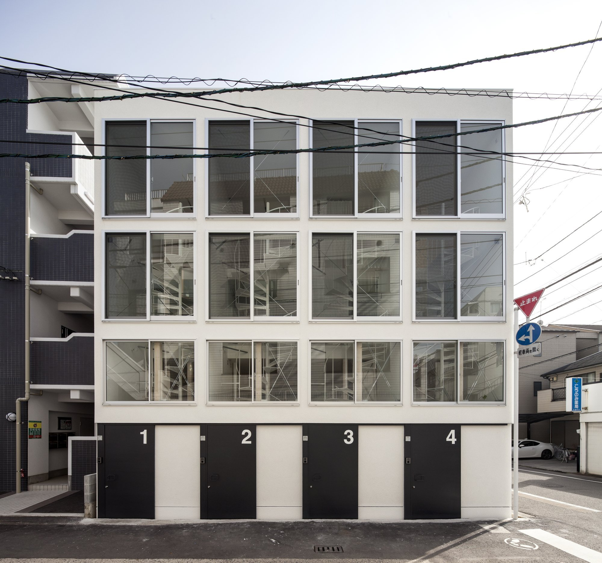 Spiral - Small House - Be-Fun Desgin - Japan - Exterior - Humble Homes