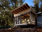 Cape Russell Retreat - Off-grid Cabin - Sanders Pace Architecture - Tennessee -Exterior - Humble Homes