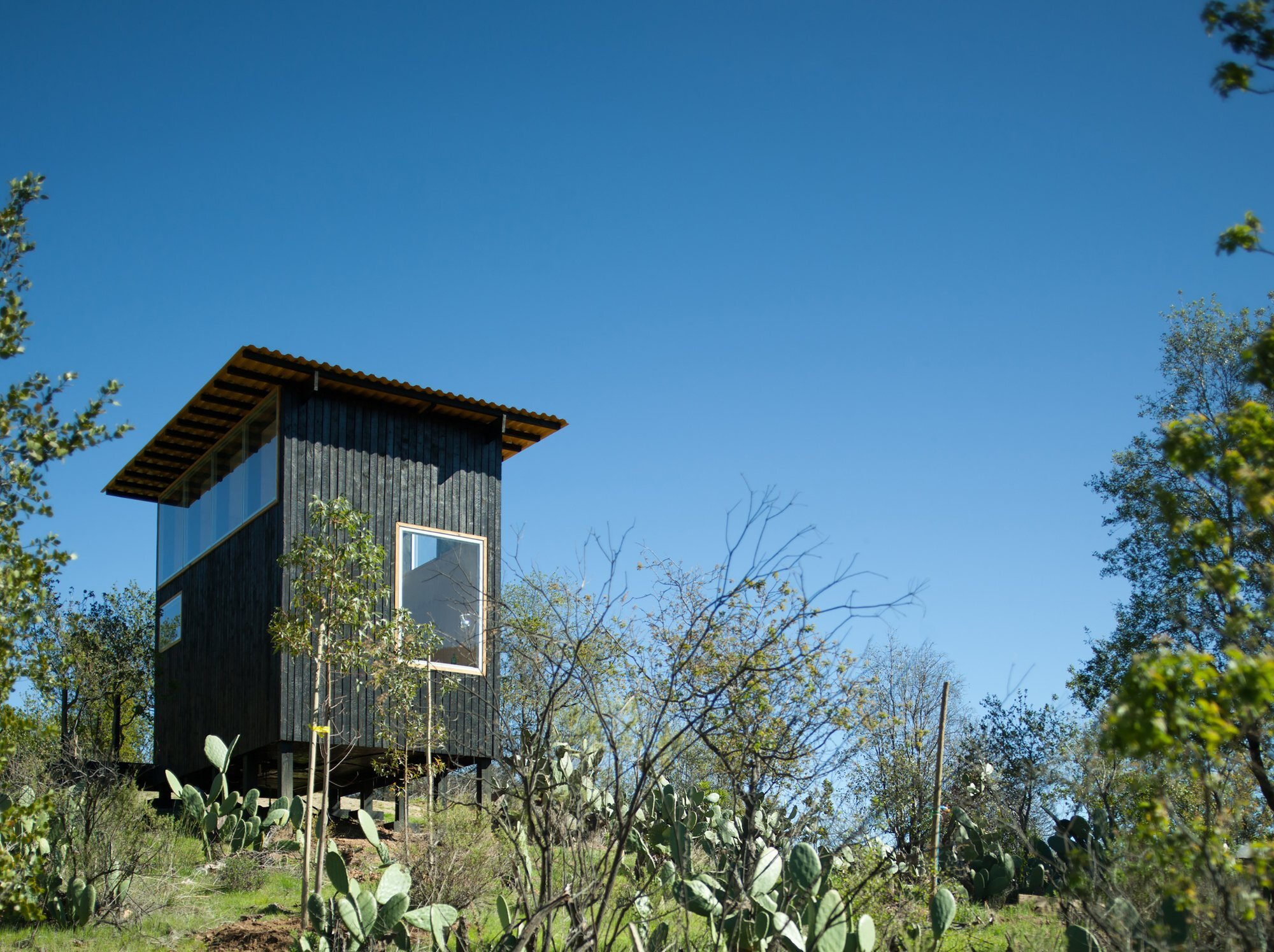 Tiny Mountain Houses Location: A Tiny Mountain Retreat In Chile
