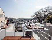Isogo House - Japanese House - Be-Fun Design - Tsuyoshi Shindo - Roof Deck - Humble Homes
