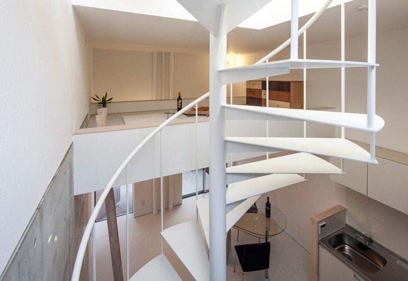 Isogo House - Japanese House - Be-Fun Design - Tsuyoshi Shindo - Staircase - Humble Homes