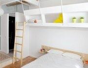 Micro Apartment - Miel Arquitectos and Studio P10 - Barcelona - Bedroom - Humble Homes