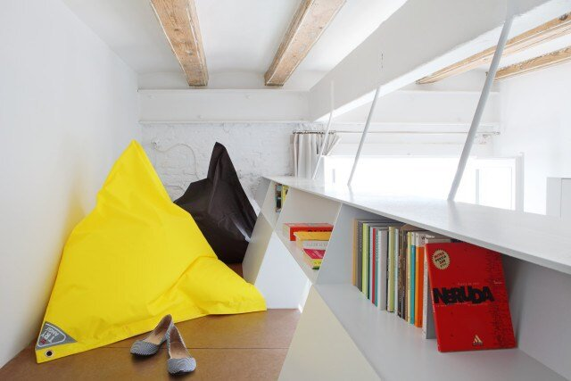Micro Apartment - Miel Arquitectos and Studio P10 - Barcelona - Nook - Humble Homes