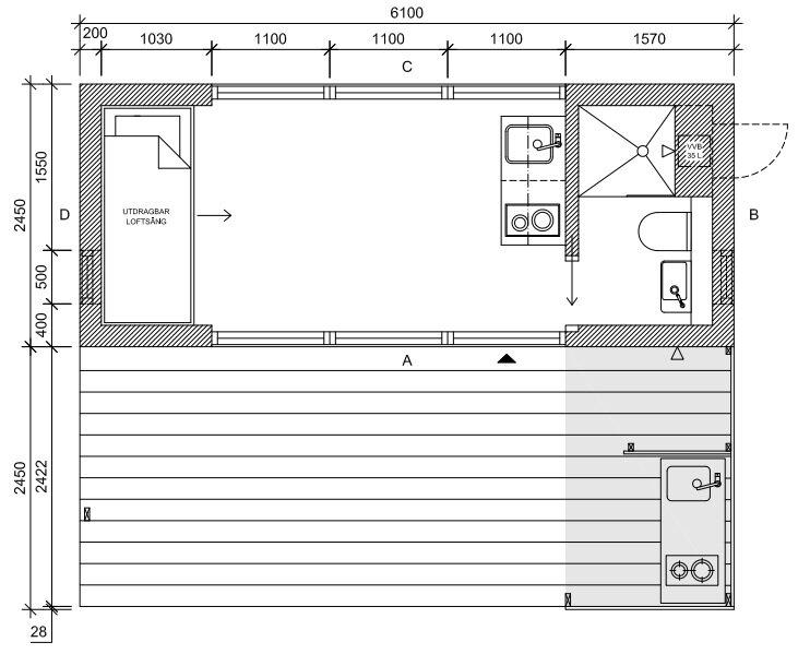 mini house 20 tiny house jonas wagell sweden floor plan humble