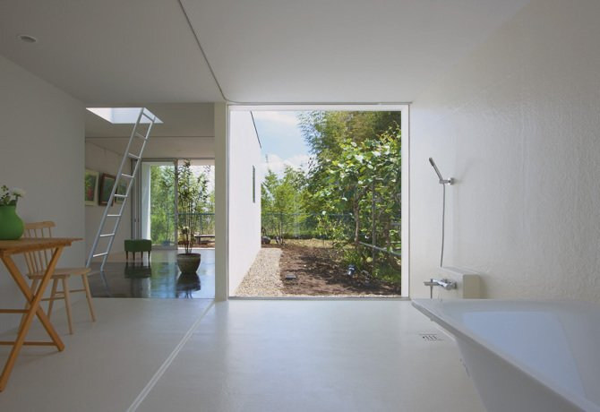 Small House - Yamazaki Kentaro Design Workshop - Sakura - Japan - Washroom - Humble Homes