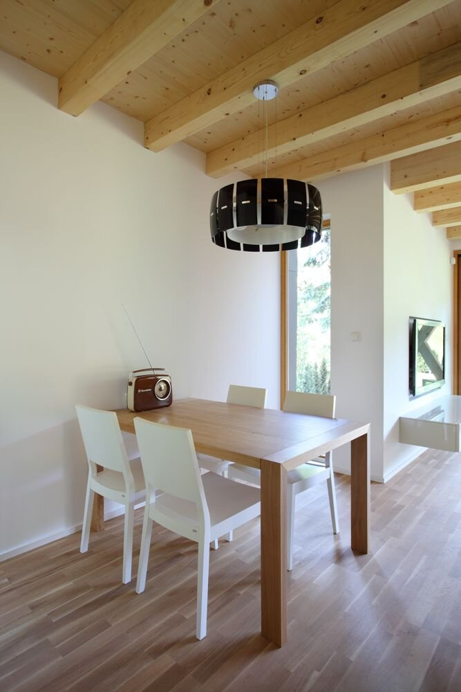 Stribrna Skalice House - Small House  - Prodesi Domesi - Czech - Dining Room - Humble Homes
