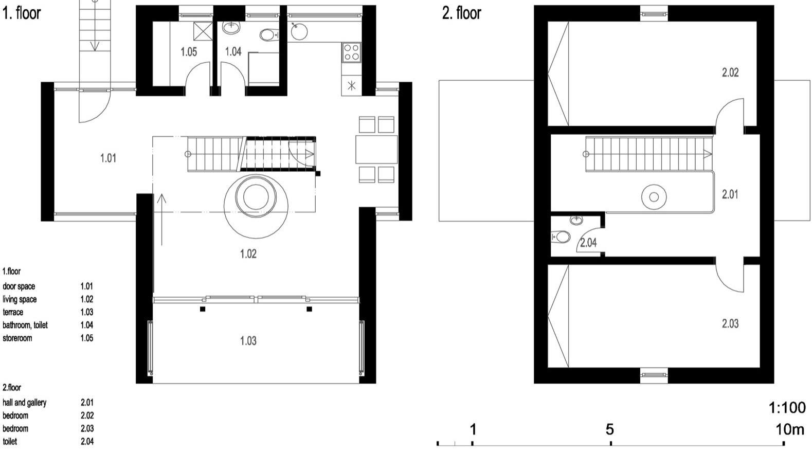 Small modern house floor plans home design for Small house plan design