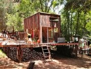 Topanga Cabin - Mason St. Peter - Topanga Canyon - California - Exterior - Humble Homes
