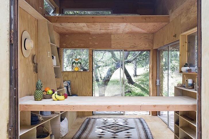 Topanga Cabin - Mason St. Peter - Topanga Canyon - California - Interior - Humble Homes