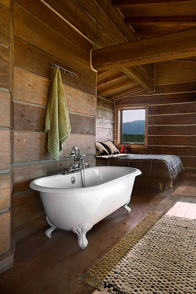 Clark Stevens - Little Lost Cabin - Summit Spring Ranch - Bathroom - Humble Homes