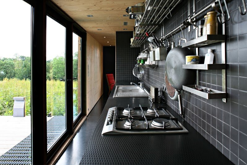 F House - Weekend Cabin - Lode Architecture - Normandie France - Kitchen - Humble Homes
