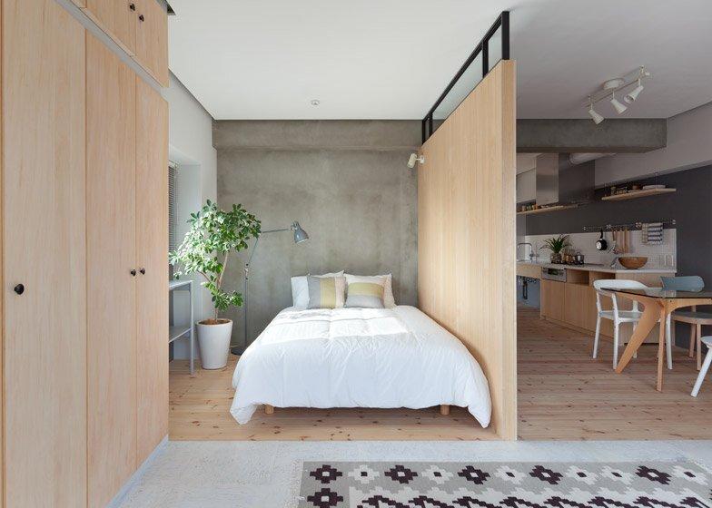 Fujigaoka M Apartment - Small Apartment - Sinato - Tokyo - Bedroom - Humble Homes