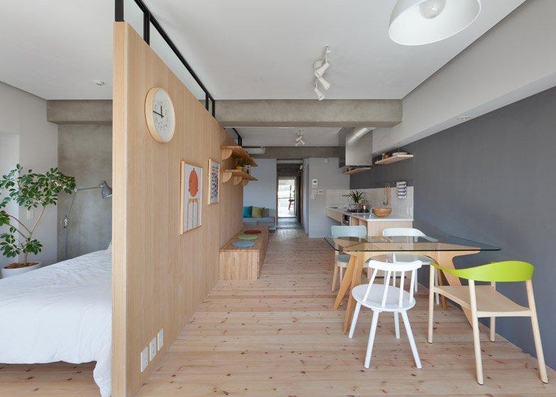 Fujigaoka M Apartment - Small Apartment - Sinato - Tokyo - Dining Room - Humble Homes