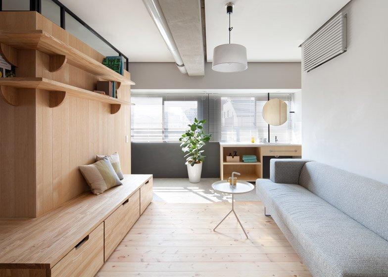 Fujigaoka M Apartment - Small Apartment - Sinato - Tokyo - Living Room - Humble Homes