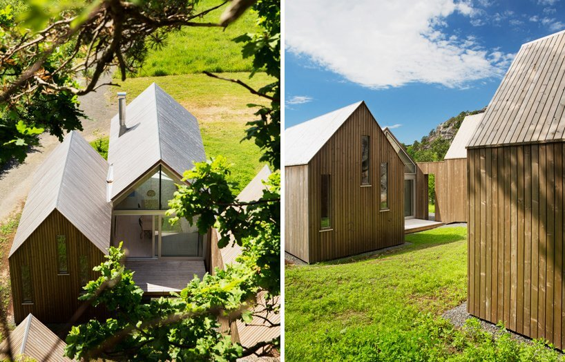 Micro Cluster Cabins - Reiulf Ramstad Architects - Norway - Back - Humble Homes