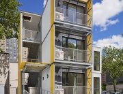 Modular Disaster Housing - Garrison Architects - New York - Exterior - Humble Homes