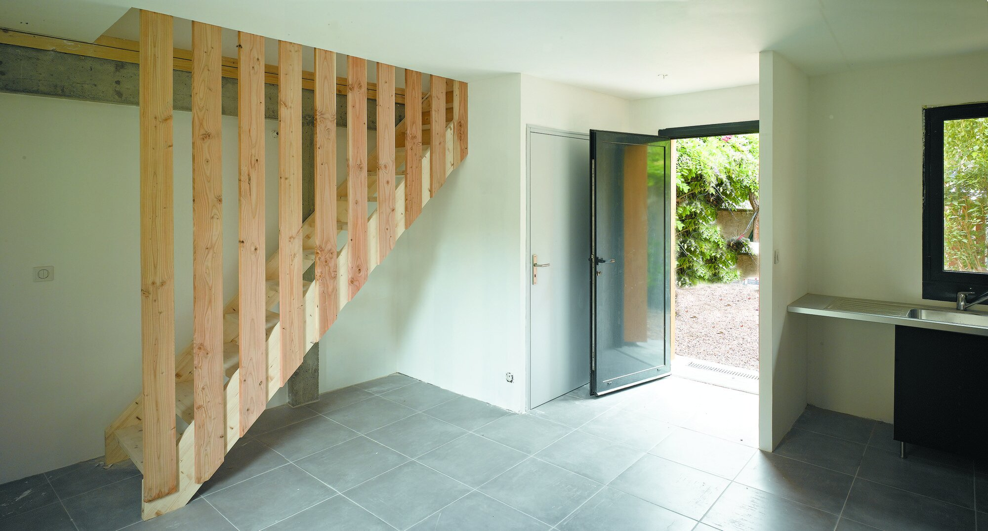 Rue Losserand - Small House - atelier 100architecture - France - Ground Floor - Humble Homes