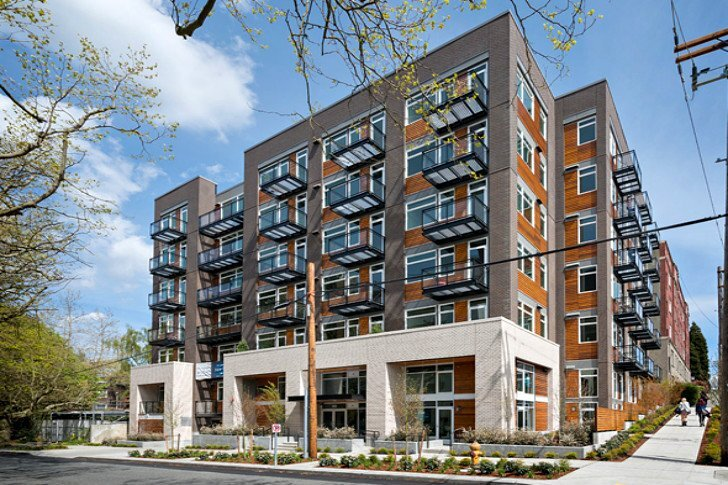 Stream Belmont - Small Apartments - NK Architects - Seattle - Exterior
