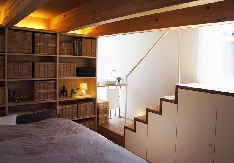 Takahashi Maki - Small House - Shiokami Daisuke - White Hut - Japan - Bedroom - Humble Homes