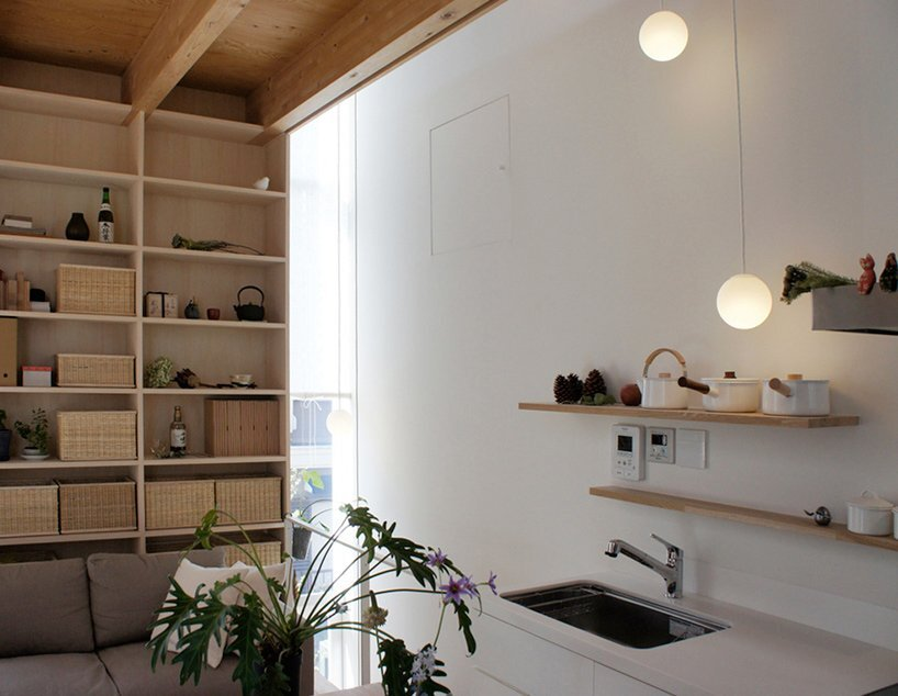 Takahashi Maki - Small House - Shiokami Daisuke - White Hut - Japan - Kitchen - Humble Homes