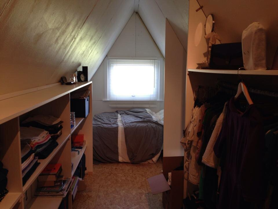 The Tipi - A Frame Cottage - Belgium - Bedroom - Humble Homes