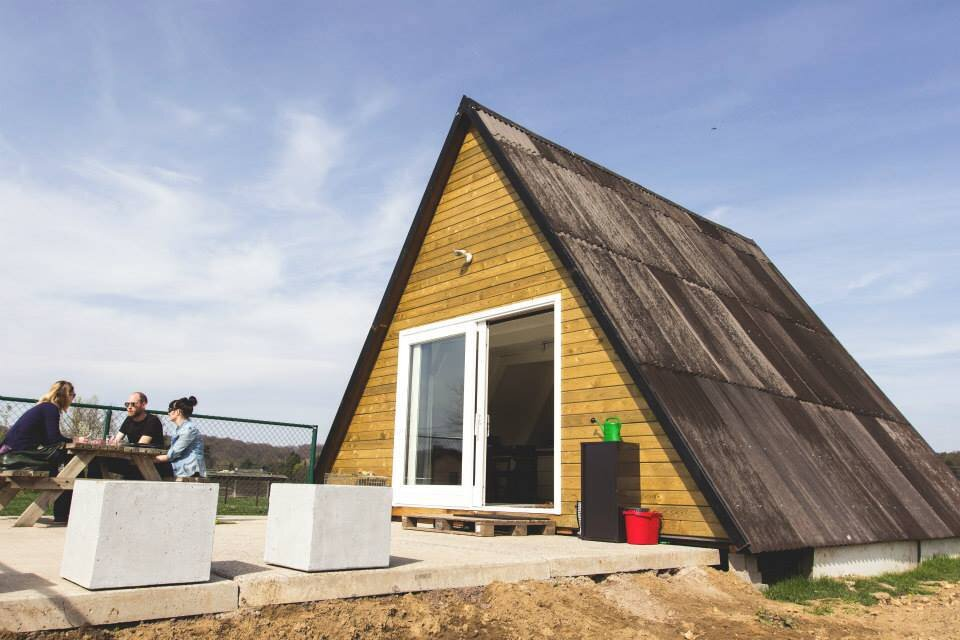The Tipi - A Frame Cottage - Belgium - Exterior - Humble Homes