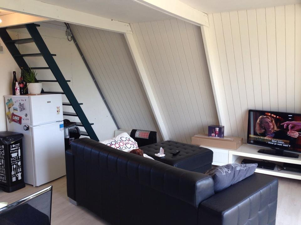 The Tipi - A Frame Cottage - Belgium - Living Area - Humble Homes