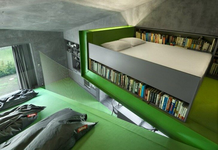 Vila Hermina - HSH Architekti - Czech Republic - Tiny House - Bedroom - Humble Homes