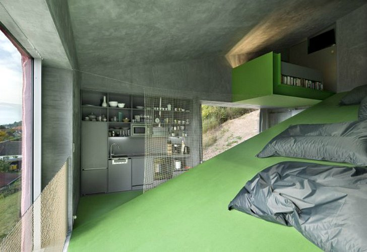 Vila Hermina - HSH Architekti - Czech Republic - Tiny House - Kitchen - Humble Homes